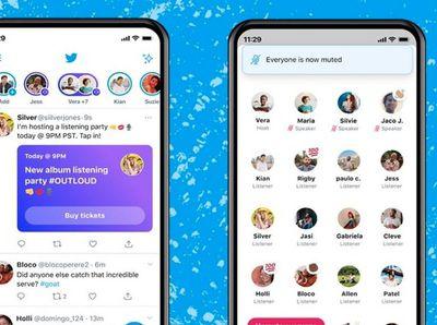 SEZ. VARIE NEWS  Twitter estende a tutti la funzione di chat audio Spaces Rimosso il limite precedente, dirette aperte su iOS e Android