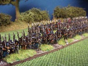 Cavalerie de landwher prussienne (1815) et infanterie confédérée (1861 - 1865)