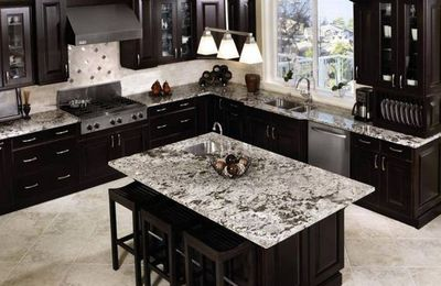 Why Are There Black and White Granite Countertops?