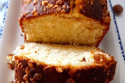 Cake au citron et aux noisettes