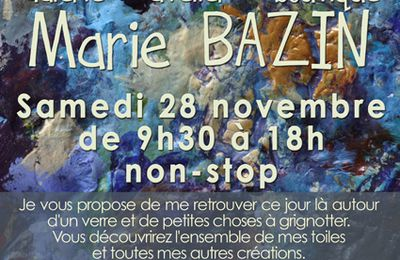 """JOURNEE VERNISSAGE"" samedi 28 novembre, à Meyssac"