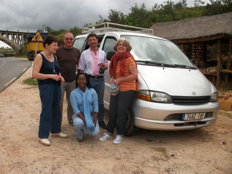 Association de chauffeurs guides à Madagascar.