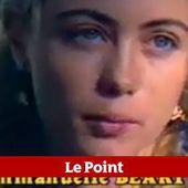 VIDEO. Emmanuelle Béart bouleversée par des images de son passé