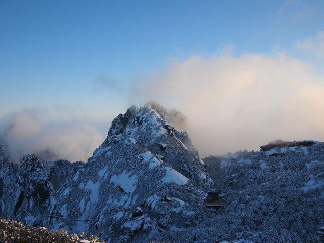 montagnes jaunes, Chine, Anhui, huangshan... une des 5 montagnes sacrées de Chine...