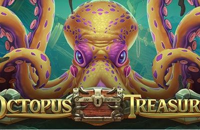 Octopus Treasure : seconde machine à sous en ligne Play'n Go en septembre