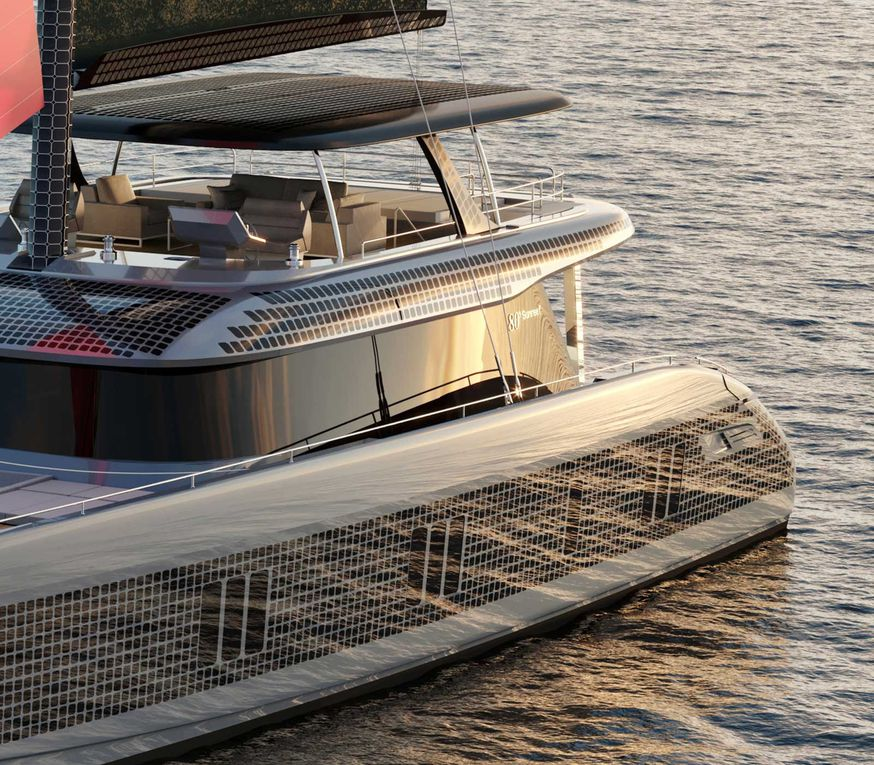 The green tech of tomorrow: Sunreef 80 Eco under construction