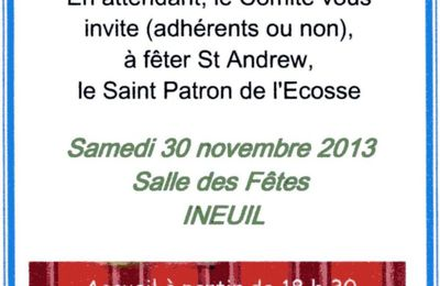 Saint-Andrew's day à Ineuil