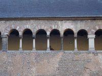 Trier-Trêves-Porta-nigra-couloir dehors-dedans-ouvertures doubles , Cl. FrancePoulain+NicolasWasylyszyn-2016