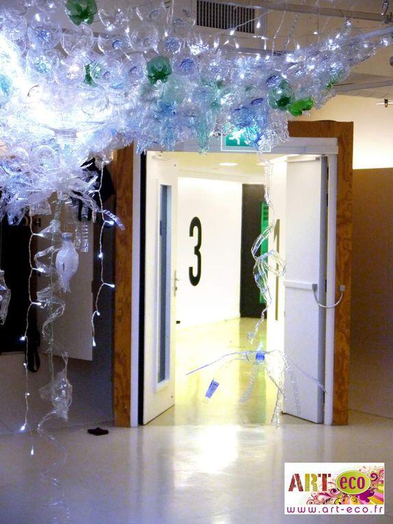 @ Marie-Laure Bruneau # 7eme continent # vortex # plaque dedéchets# artiste art et environnement # art et recyclage plastiques
