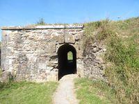 Rocroi, murs de la citadelle, Cl. Elisbeth Poulain
