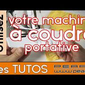 [TUTO] la machine à coudre portative Pearl - Astuces et réglages - [PEARLTV.FR]