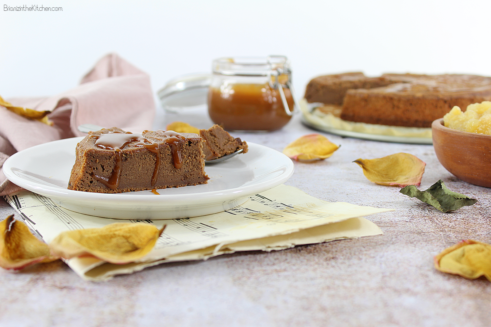 Cake Fondant Chocolat Caramel Sans Beurre