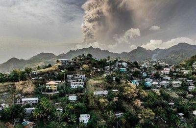 St Vincent : Seuls les vaccinés ont pu fuir la grande éruption volcanique