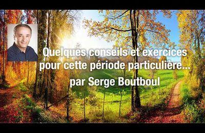 Serge Boutboul Quelques conseils et exercices
