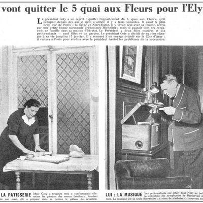 René Coty, en toute intimité