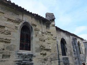 L'église vue de l'extérieur
