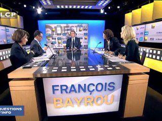 François Bayrou, invité de Questions d'Info sur LCP - 28/11/2012