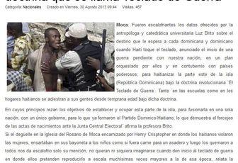 TEORIAS DE CONSPIRACION.LA CONSPIRACION ILLUMINATI DE HAITI Y E.U. CONTRA REPUBLICA DOMINICANA
