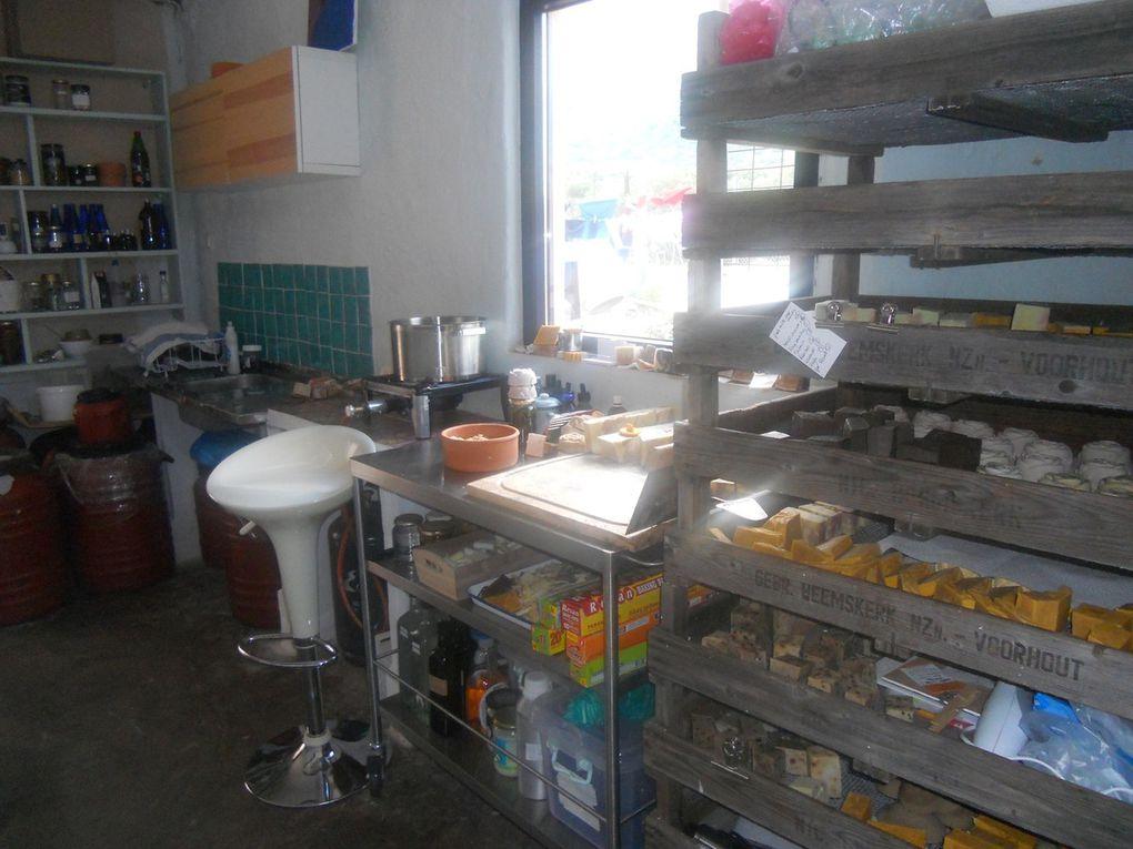 A- Fabrication de savons