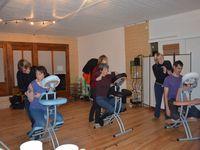 Soirée entrainement au massage assis familial