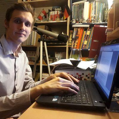 Gabriel Raffard le sommelier confiné qui écrit un roman policier