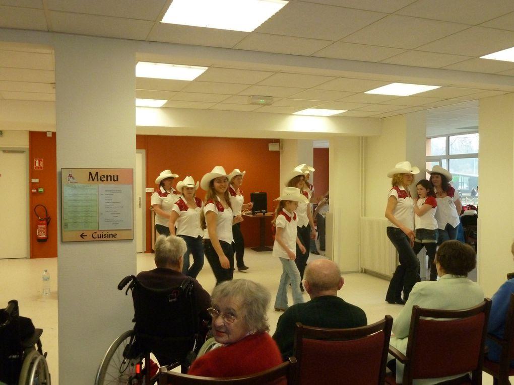 Démonstration à la maison de retraite de Lannion --> Foyer Paul Hernot