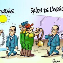 Hollande au Salon de l'Agriculture