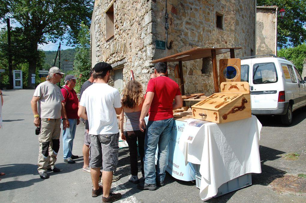En public à Cubières pendant les démonstrations. (5 photos)
