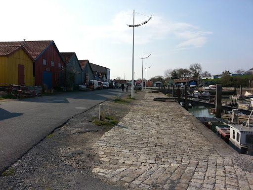 Le port, la plage et le fort Vauban de l'île d'Oleron