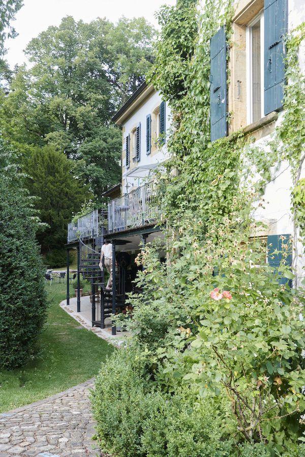 Une maison XVIIème et son jardin