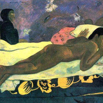 L'esprit des morts veille. Tableau de Paul Gauguin (1893).