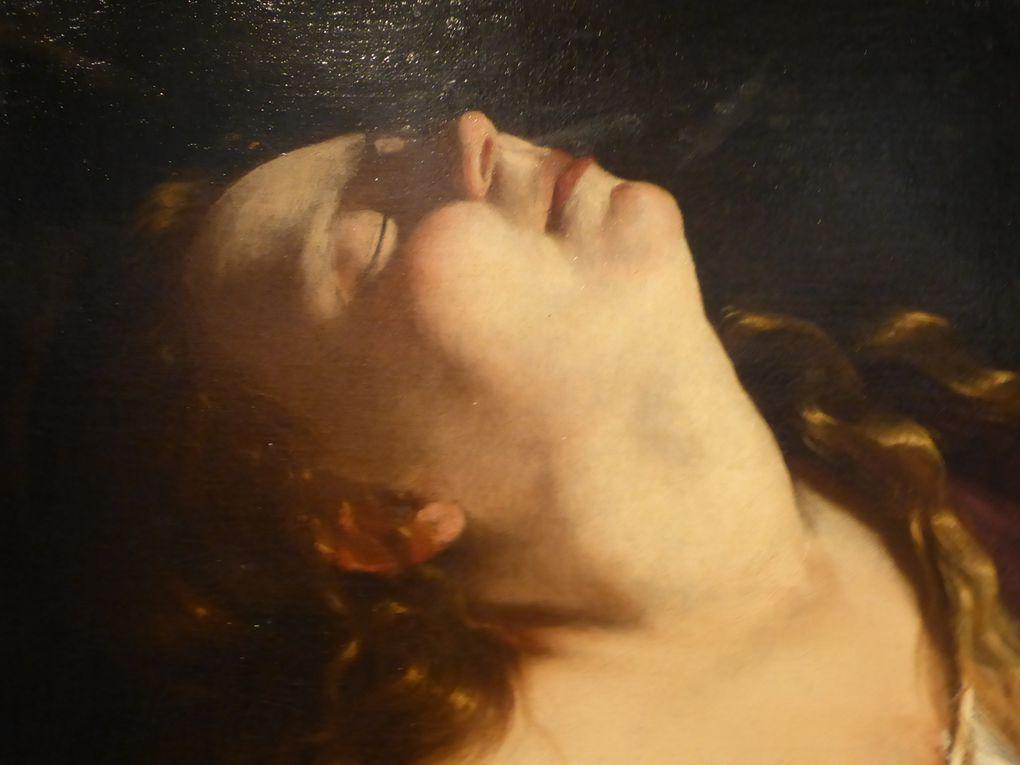 Détails des tableaux décrits © Photographies Antoine Prodhomme, exposition 21 juin 2014, Sotheby's Paris