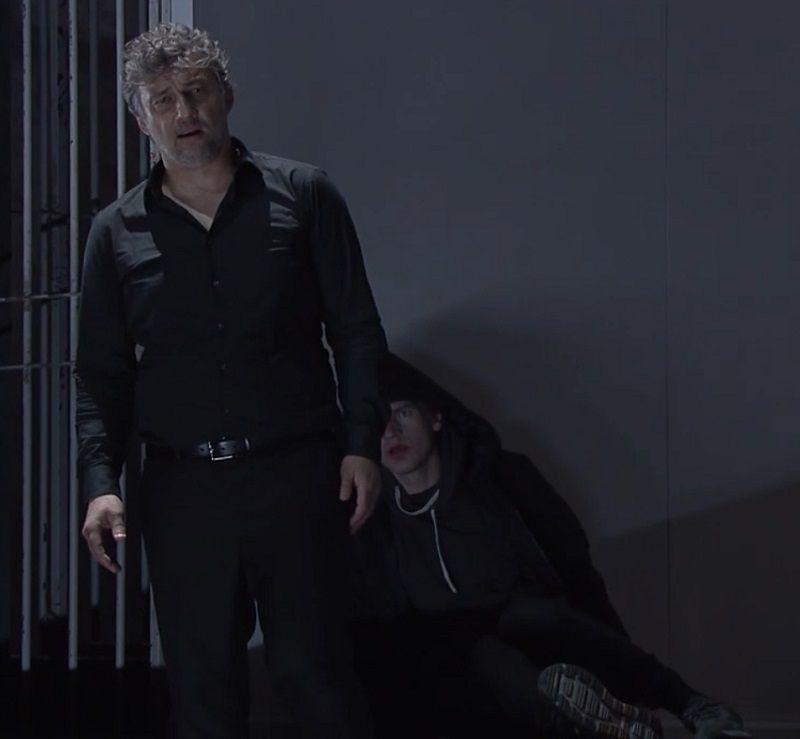 Jonas Kaufmann (Parsifal) et Nikolay Sidorenko