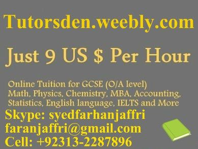 MBA Finance Tuition and Online Tutor +92313-2287896 Teaching and Tutoring Agency, MBA Finance, Finance Tuition