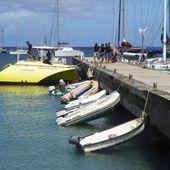 A quoi sert le ponton de Grande Anse? - Manu et Martin autour du monde