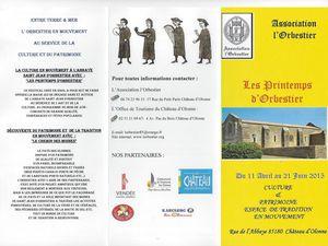 PRINTEMPS D'ORBESTIER  à CHÂTEAU d'OLONNE : Amour et Vie d'une femme à l'opéra, rendez-vous le vendredi 12 juin 2015