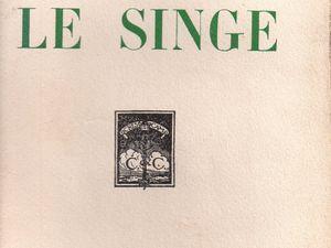 "Maurice Renard & Albert-Jean ""Le Singe"" (1925)"