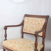 How to Reupholster a Chair - Farmhouse on Boone