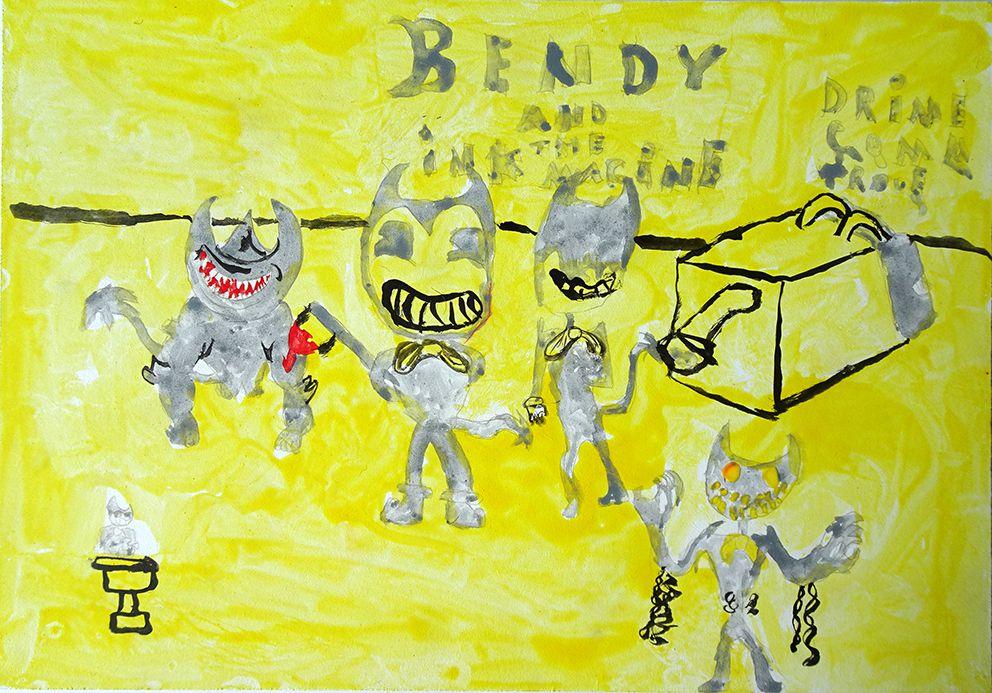 peinture tempera enfants