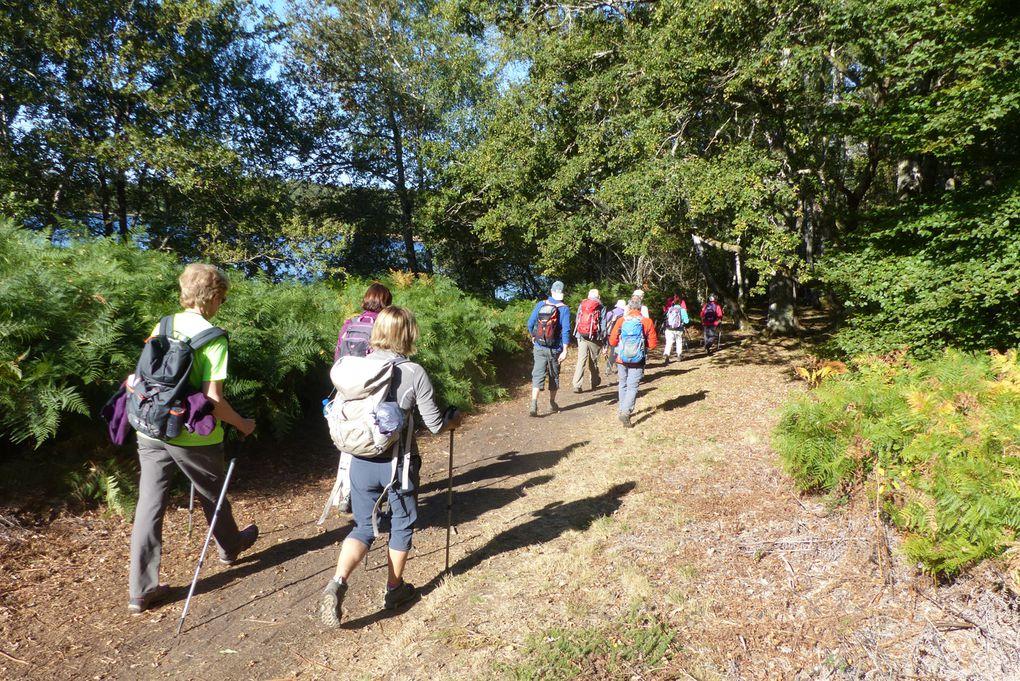 les Mont d'AMBAZAC, 5ème jour :20 km autour du lac de Saint-Pardoux