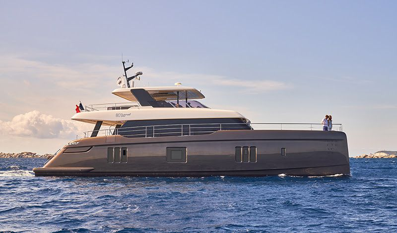 Otoctone 80 : A success story available on the luxury charter market