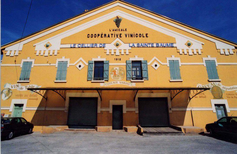 Cave coopérative L'Amicale de Saint-Maximin-la-Sainte-Baume.