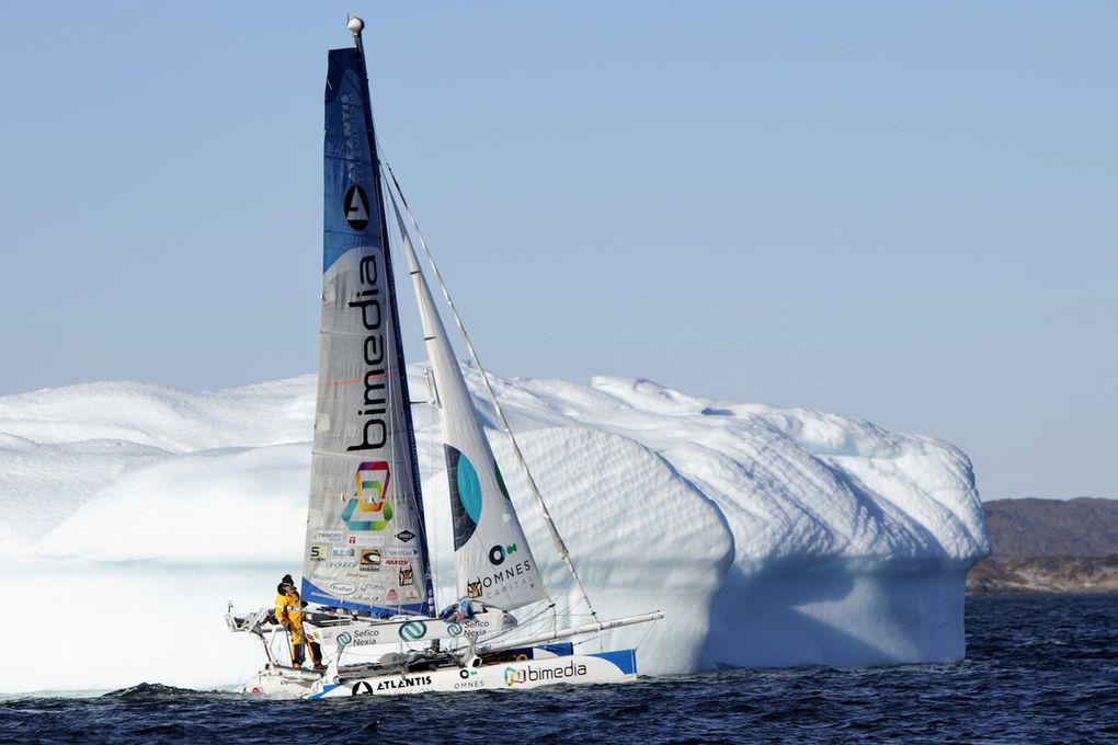 Yvan Bourgnon devient le premier skipper à rallier le Groenland depuis l'Alaska à la voile