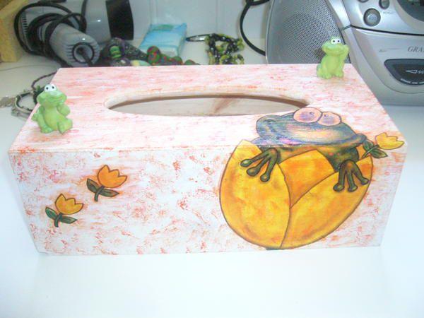 tous mes petits travaux en collage de serviettes