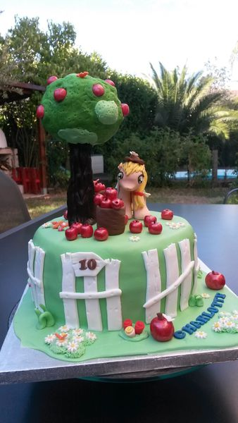 GATEAU APPLE JACK MY LITTLE PONEY