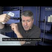 THERMOMETRE INFRAROUGE FRONTAL - Sans contact - [PEARLTV.FR]