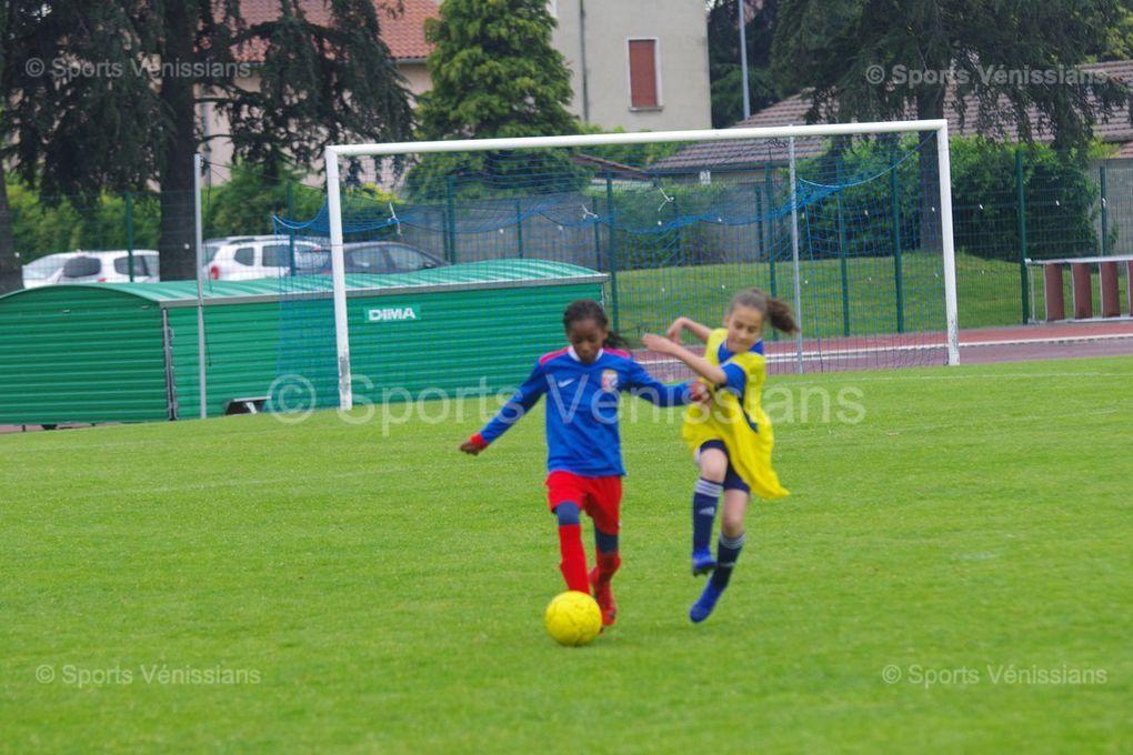 Les jeunes pousses du football féminin ont fait honneur à leur discipline