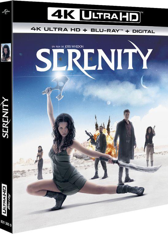Serenity, E.T. et Apollo 13 disponibles en 4K Ultra HD…
