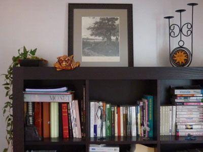 Exemples de cadres dans leur environnement. Photos présentées avec l'accord des clients de l'Atelier.
