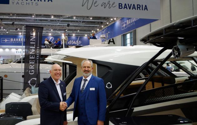 The Greenline shipyard sells its NEO outboard range to Bavaria
